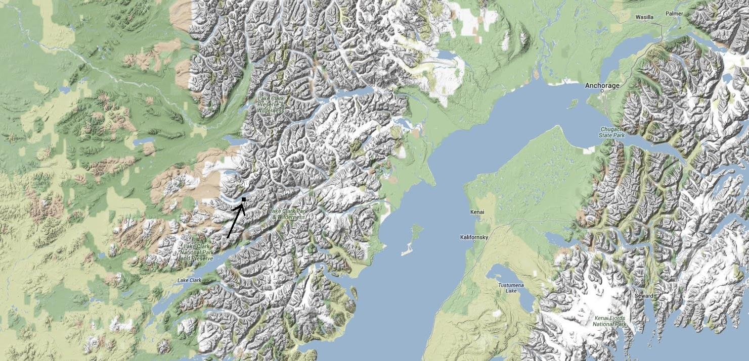 Tiny Home Designs: Alone In The Wilderness Location Map