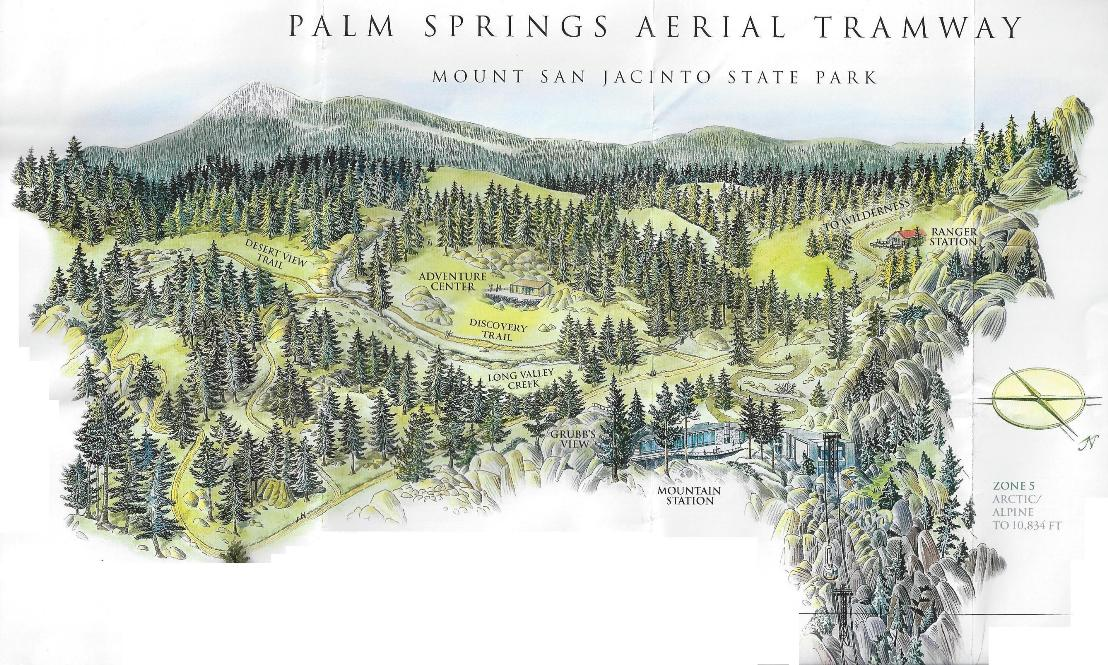 Palm Springs Aerial Tram Pictures Map Information