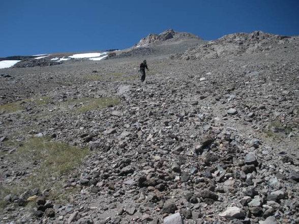 Climbing Mount Shasta