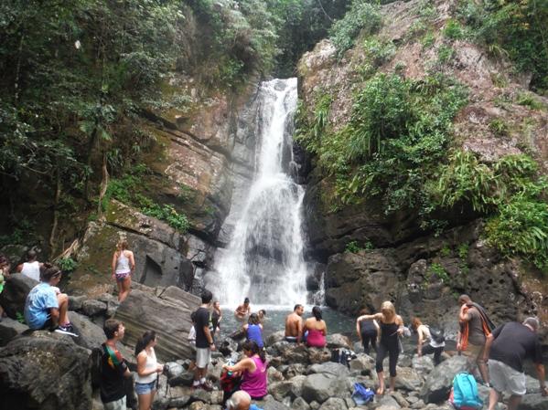 El yunque national forest puerto rico for Bano de oro el yunque