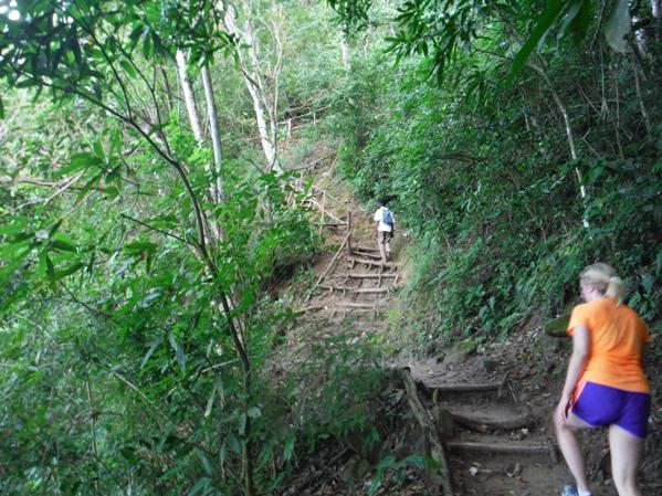 Gros Piton Hike St Lucia Climbing