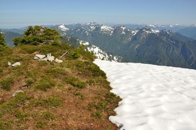 Lennox Mountain Washington Prominence Peaks