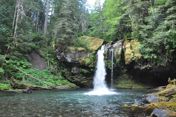 Iron Creek Falls Gifford Pinchot National Forest