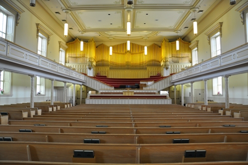 Logan Tabernacle inside