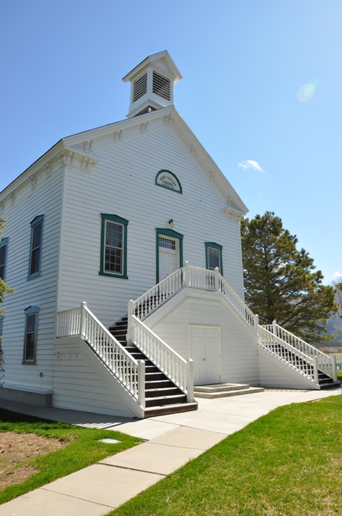 Pine Valley Ward Chapel Lds Historic Sights