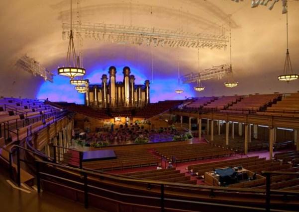 Salt Lake Tabernacle Temple Square Utah