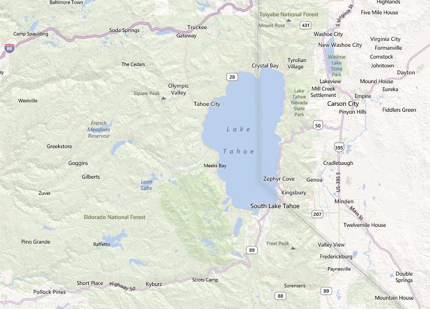 Reno And Lake Tahoe Sights  Things To See