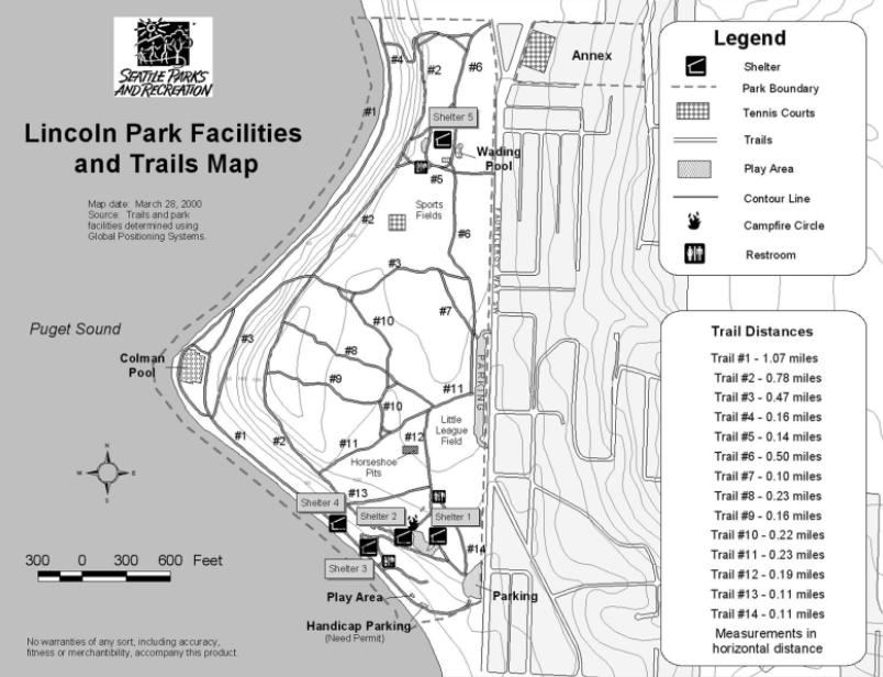 Lincoln Park  Seattle Parks Hikes