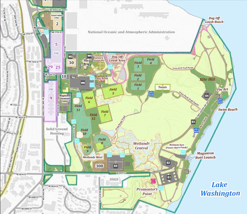 Washington Lake Park Dog Park