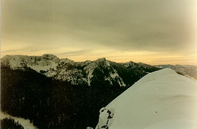 Guye Peak Snoqualmie Pass