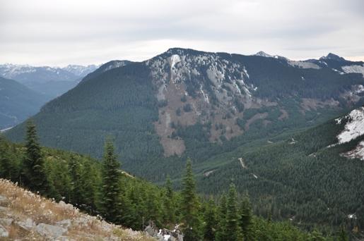 Little St Helens Hansen Creek Trailhead