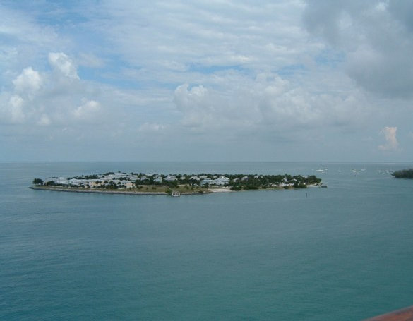 Small island off Key West. Another one of many museums.