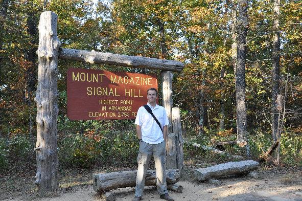 Mount Magazine Arkansas Highpoint