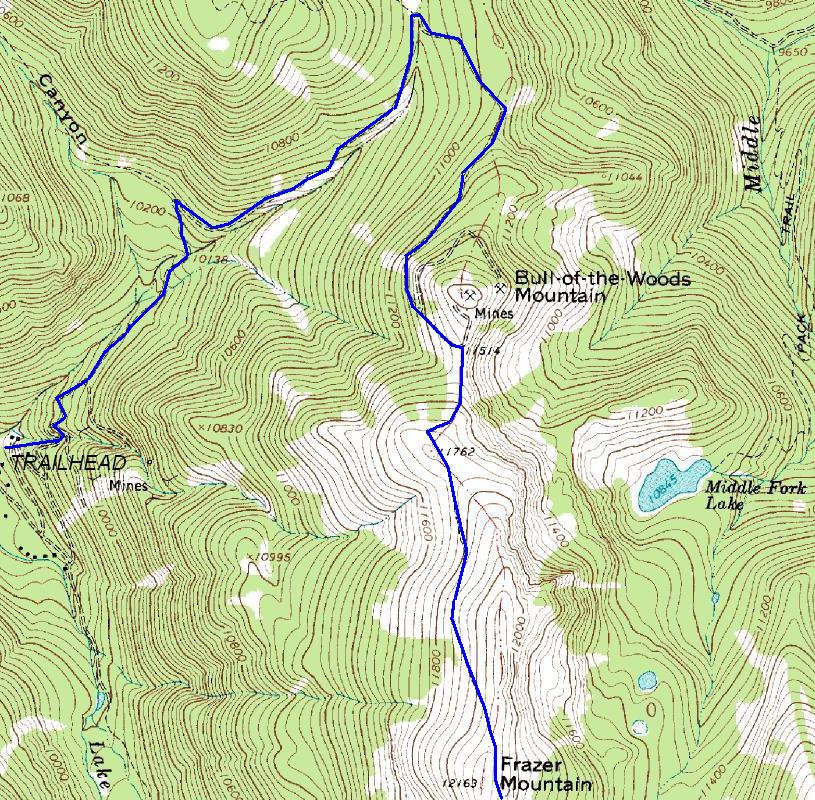 Wheeler Peak New Mexico Trail Information And Map - Topographical map of new mexico
