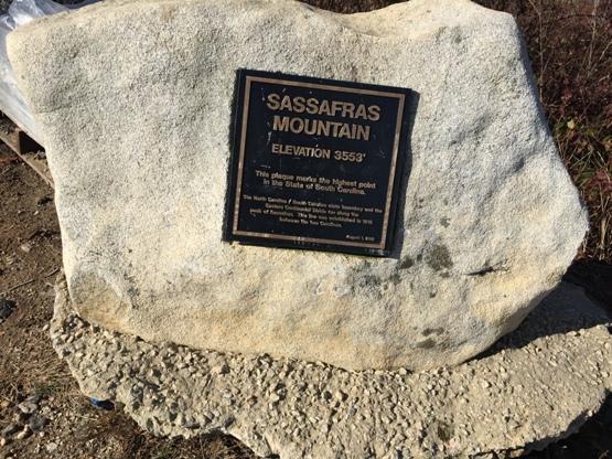 Sassafras Mountain - South Carolina State Highpoint