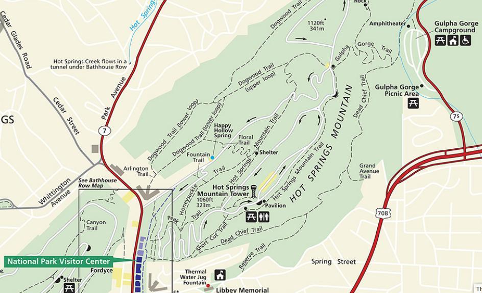 Hot Springs Arkansas National Park