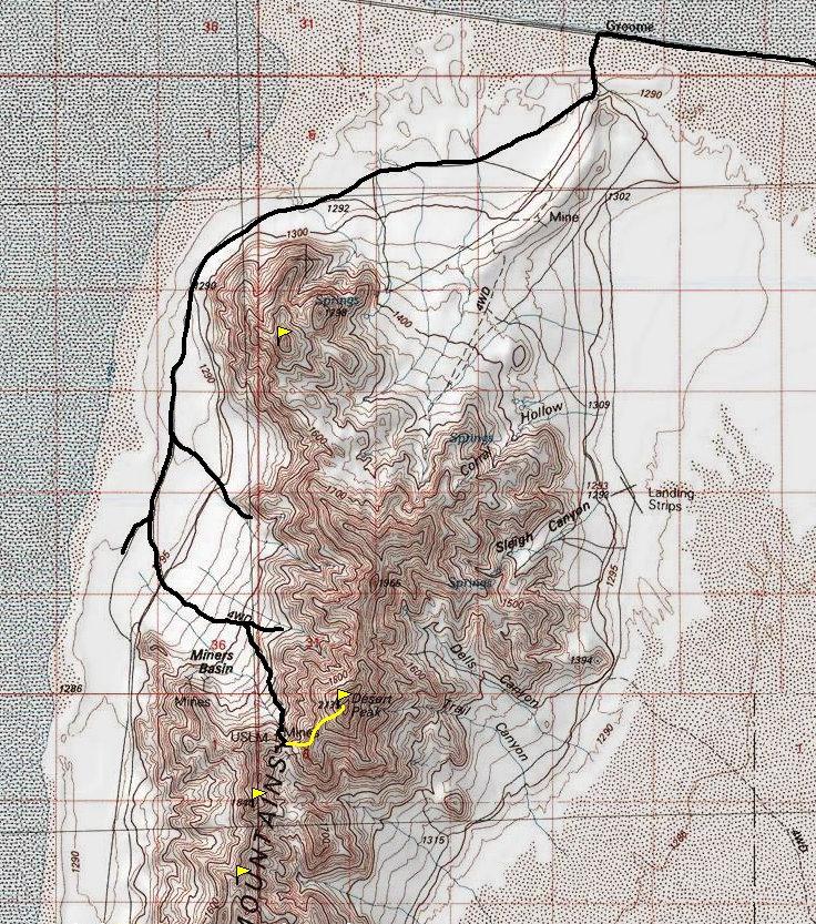 Map of World Mountain Ranges And Deserts Range Map Desert