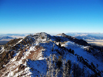 Black Crook Peak Sheeprock Mountains