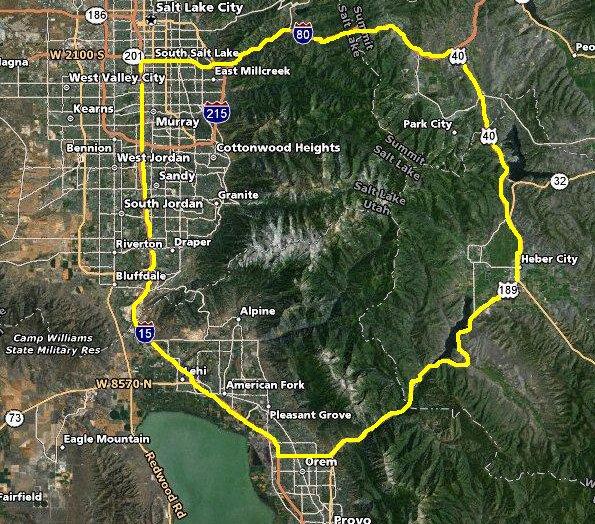 Wasatch Mountains Hiking - Climbing Every Peak