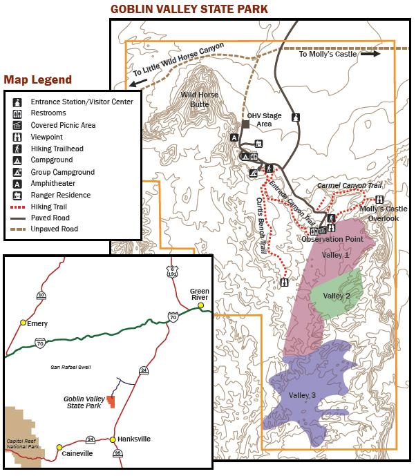 Goblin Valley Map  World Map 07