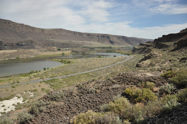 Up the coulee