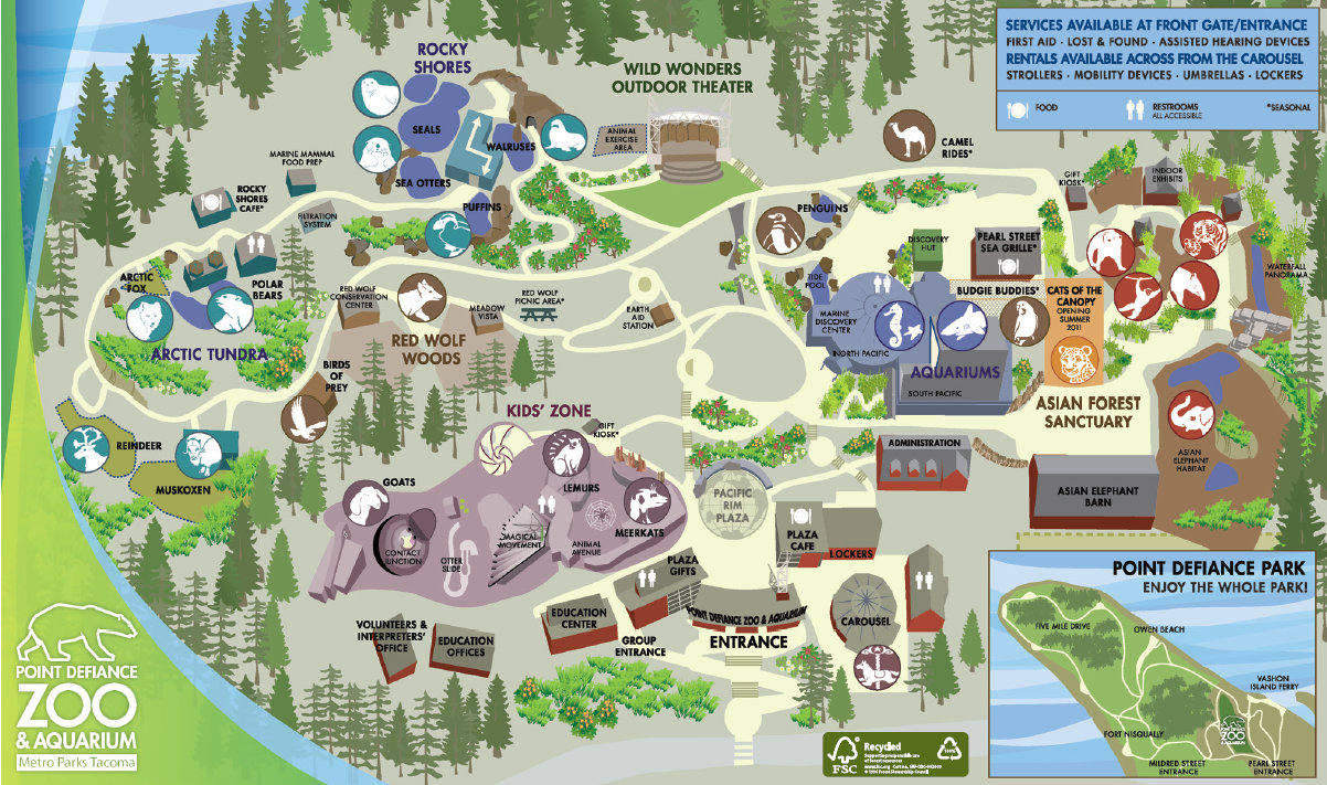 Gallery For Gt Woodland Park Zoo Map
