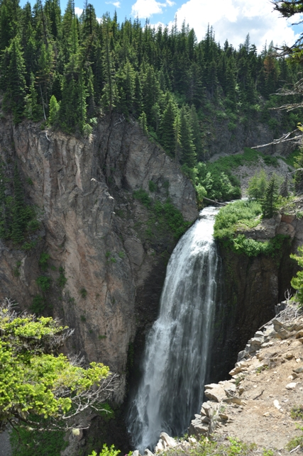 Clear Creek Falls White Pass Scenic Byway