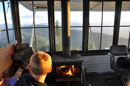 Burley Mountain Lookout Gifford Pinchot National Forest