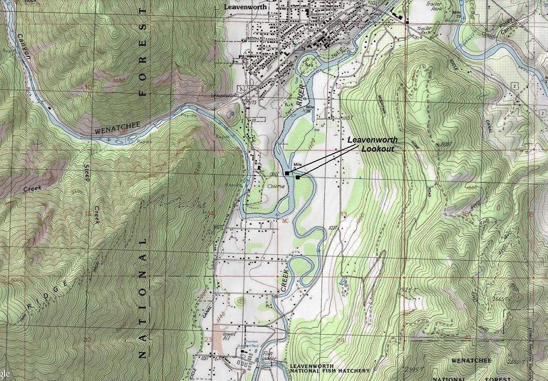 Leavenworth Lookout - Washington Fire Lookouts