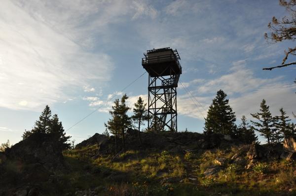 Leecher Mountain Lookout
