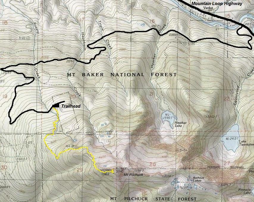Mount Pilchuck - Washington Fire Lookouts