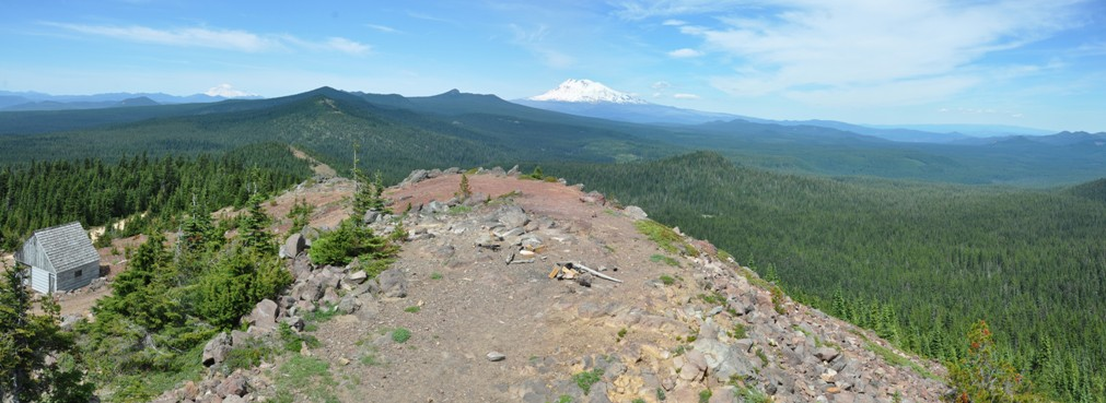 Red Mountain Lookout Gifford Pinchot National Forest