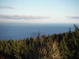 Striped Peak Lookout Salt Creek County Park