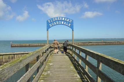 Westport washington sights attractions for Half moon bay pier fishing