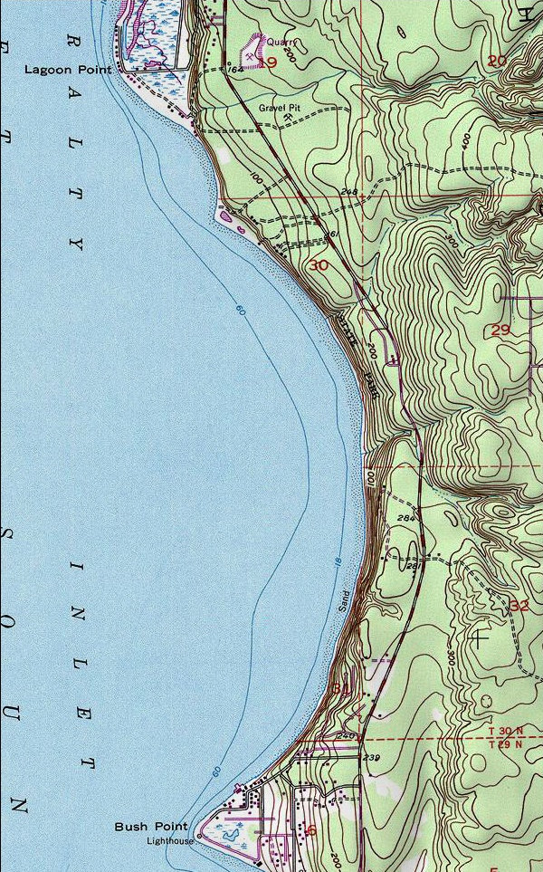 Whidbey Island Trails Map
