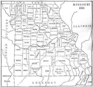 Early Missouri Maps Historic County Maps - County maps of missouri